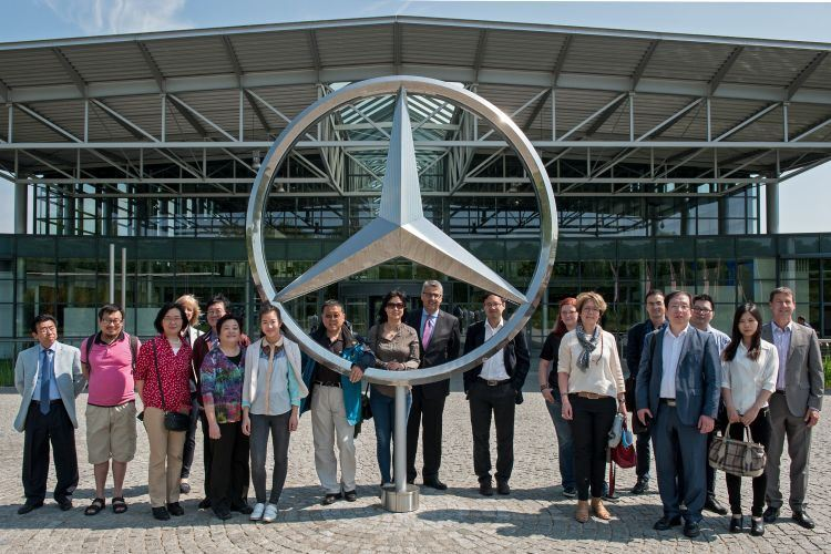 Mercedes Bremen Kundencenter wfb unternehmer aus china in bremen bei mercedes