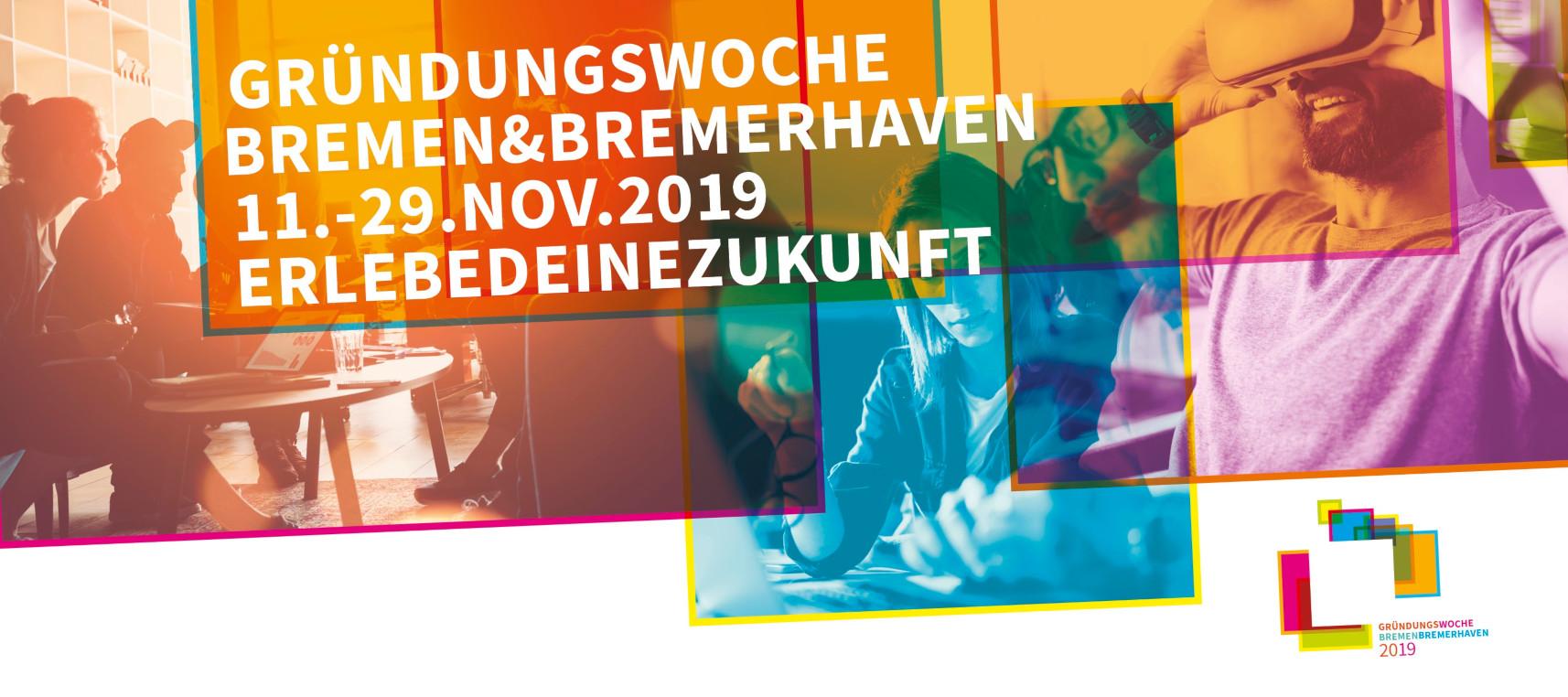 Start der Gründungswoche Bremen und Bremerhaven