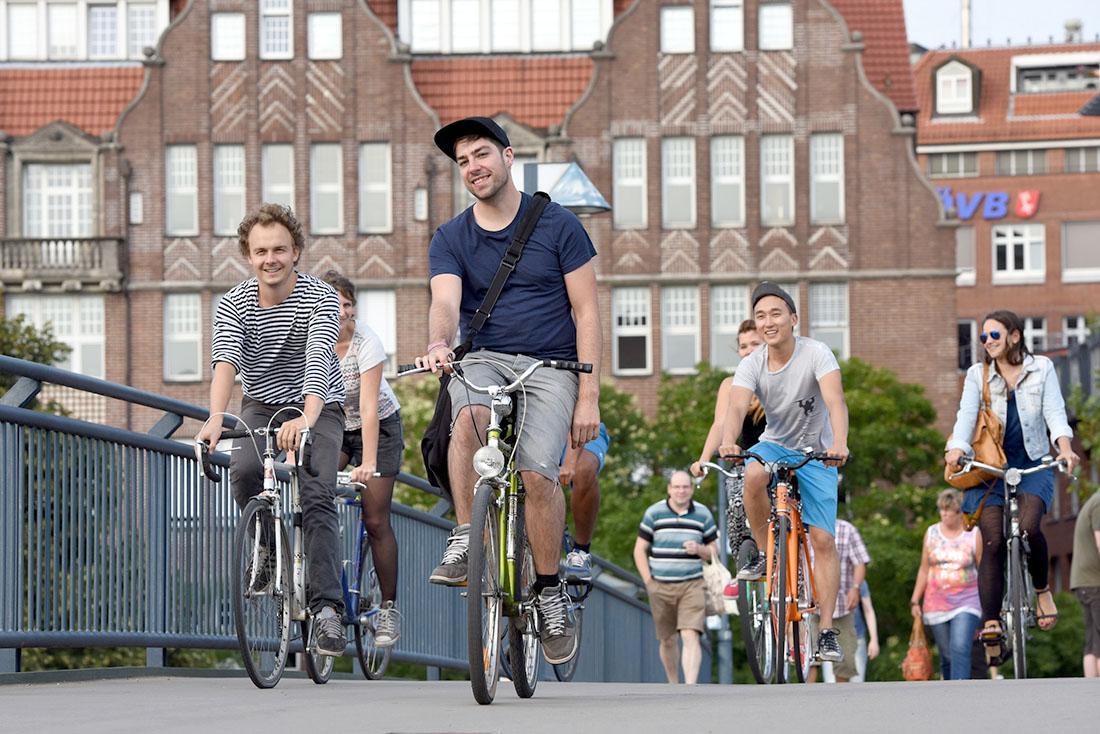 In diesem Stadtteil hat das Rad Vorfahrt