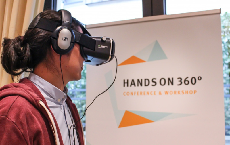 "Mit dem ""HANDS ON 360°"