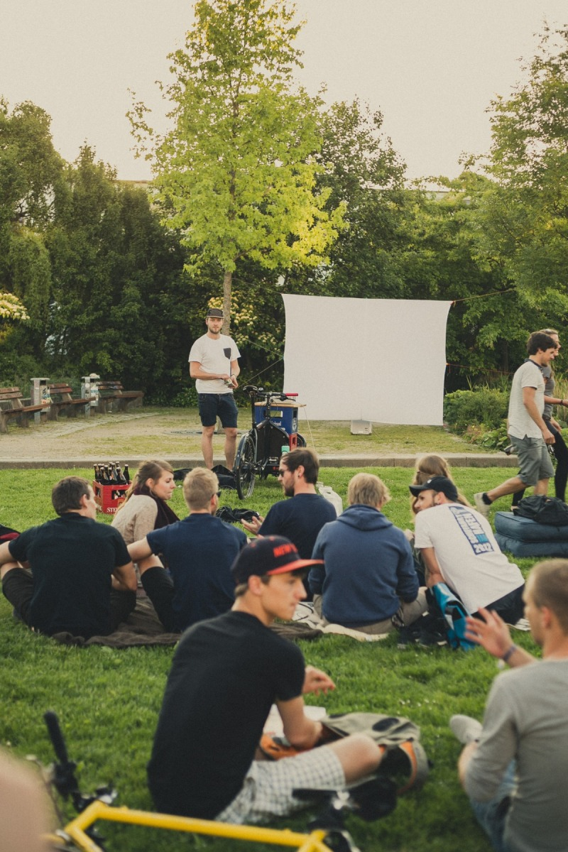 Bremen bike it! Fahrrad-Open-Air-Kino