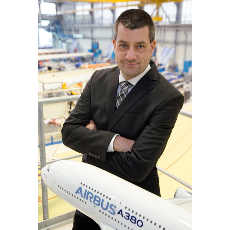 Dr. André Walter, site manager Airbus Bremen