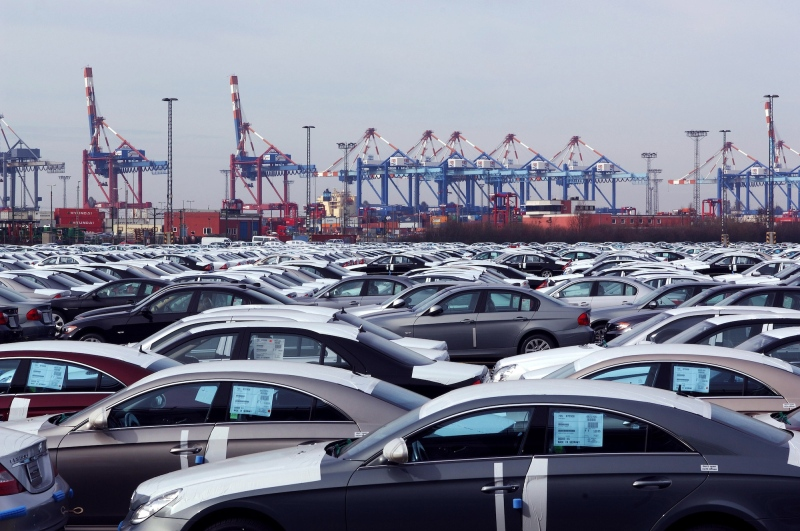 The largest part of the exports consists of vehicles, at around 60 per cent