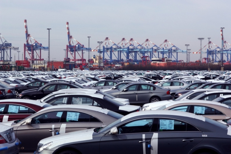 Bremerhaven is one of the world's largest transshipment hubs for cars