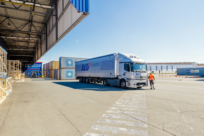 A major player in every aspect of logistics: the BLG Group