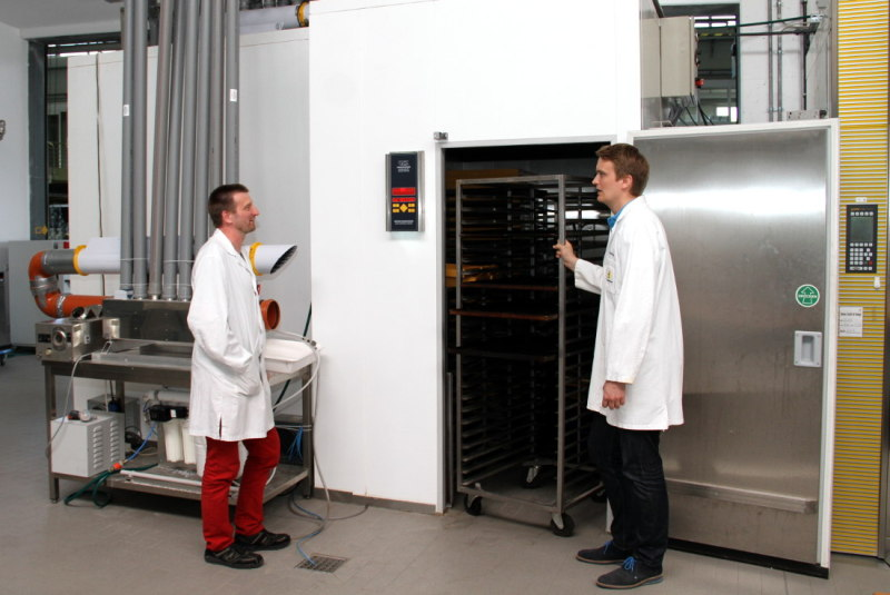 Test chamber in Bremerhaven