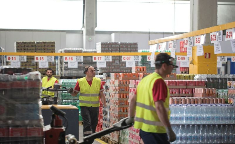In the Coca-Cola warehouse: complete accuracy thanks to smart glasses