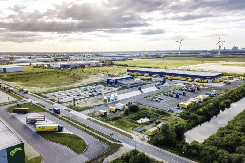 Dachser Logistics Centre at the Cargo Distribution Center (GVZ)