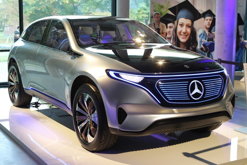 EQ stands for Electric Intelligence – full production of the new vehicle range by Mercedes-Benz is set to commence at the Bremen plant at the end of the decade.