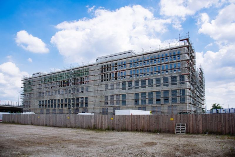 Under construction - EcoMat is one of the largest scientific projects in Bremen