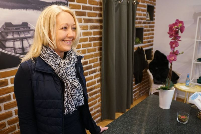 Sonja Stellmann in ihrer Boutique