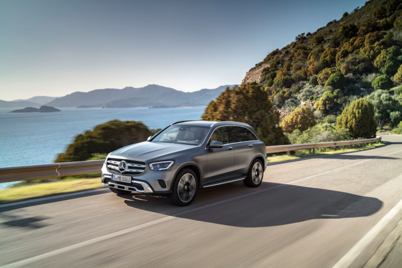 Take the road less travelled: the GLC SUV