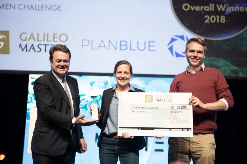 Plan Blue gewinnt Space Oscars in Marseille