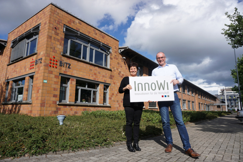 Lieselotte Riegger and Jens Hoheisel of InnoWi