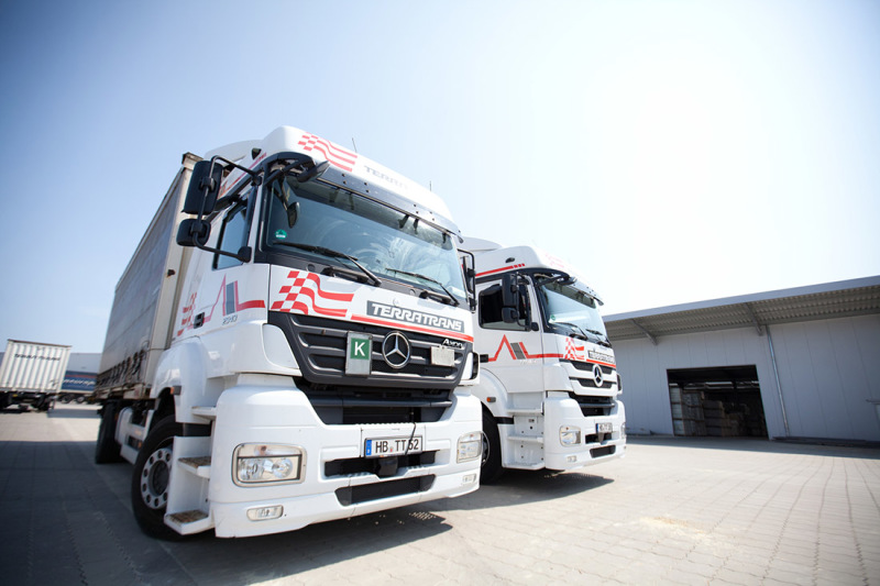 Indispensable in the freight business: haulage firms like Bremen's Terratrans