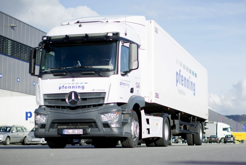 Pfenning has been the logistics partner to the Mercedes-Benz plant in Bremen since 2006