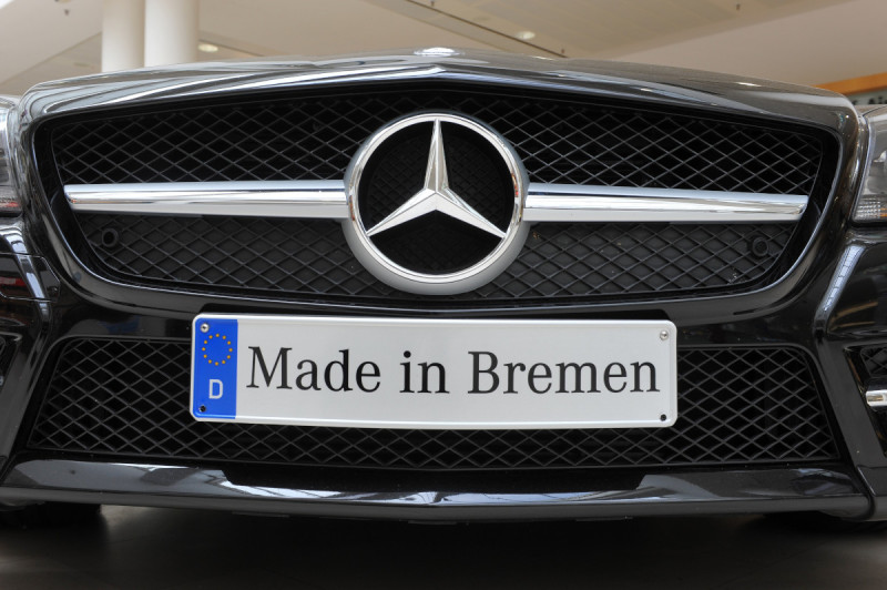 The Mercedes plant in Bremen is one of the company's key sites