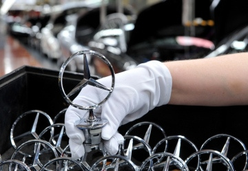 Sparkling prospects: Daimler is continuing to invest in the Bremen site.