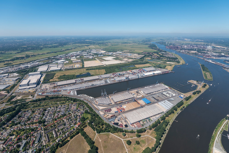 Neustädter Hafen benefits from its proximity to the Bremen Cargo Distribution