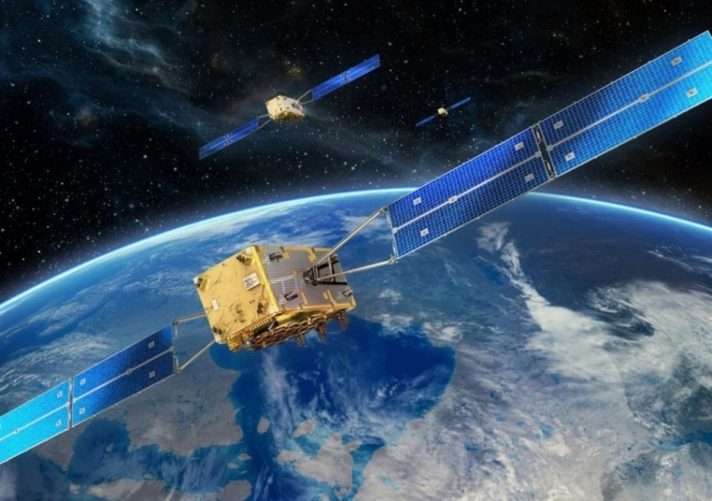 Ten of the 14 Galileo satellites that are currently orbiting in space come from OHB SE