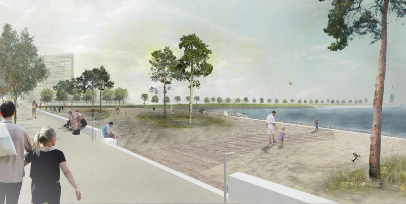 Visualisierung Strandpark