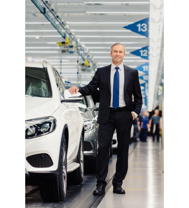 Making Bremen fit for the future: Peter Theurer has been head of the Mercedes-Benz plant in Bremen since October 2015.