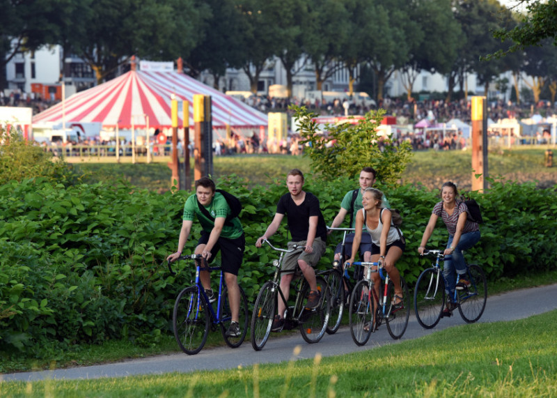 Osterdeich at the Weser river