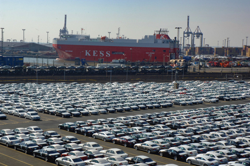A specialist in vehicle transportation: the shipping company KESS
