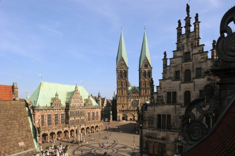 Bremen's city centre