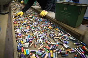 Batteries to recycle
