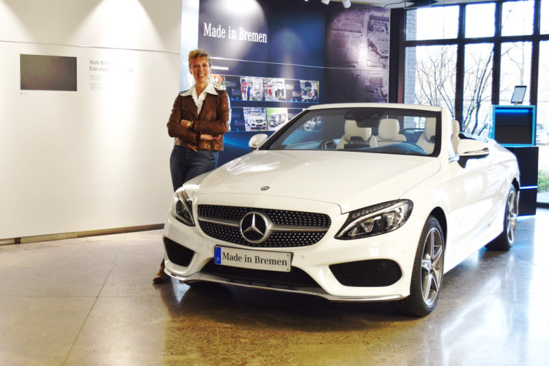 Andrea Schreiber, head of production start-up logistics at Mercedes-Benz in Bremen