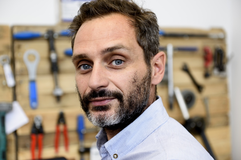 Stathis Stasinopoulos has turned his hobby into a business.