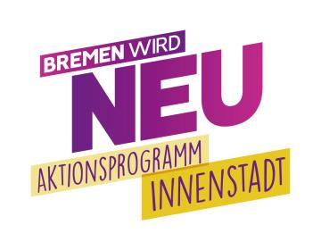 Logo des Aktionsprogramms Innenstadt