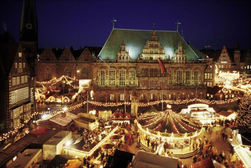Christmas market in Bremen