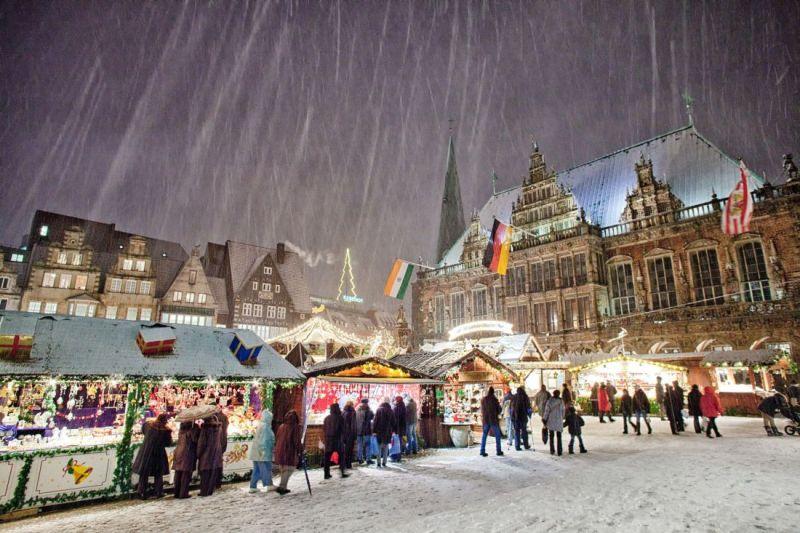 Bremen Weihnachtsmarkt.Weihnachtsmärkte Bremen 2018 Wfb