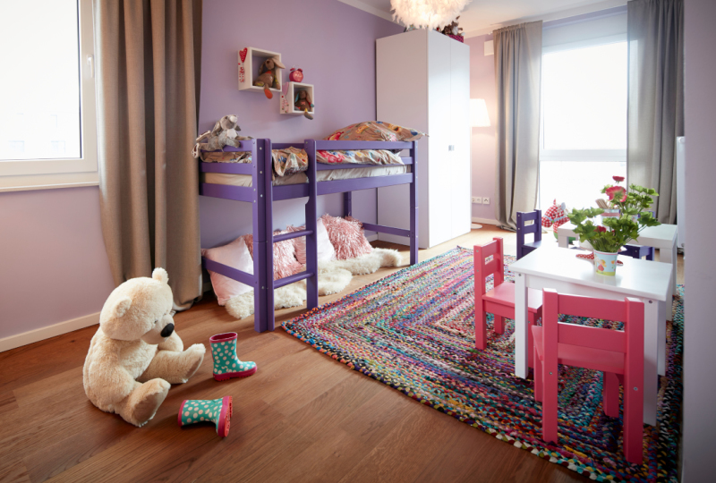 Kinderzimmer Im Musterhaus