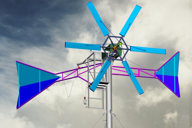 Windkraftanlage selbst bauen - Bauanleitung für Windräder im ...