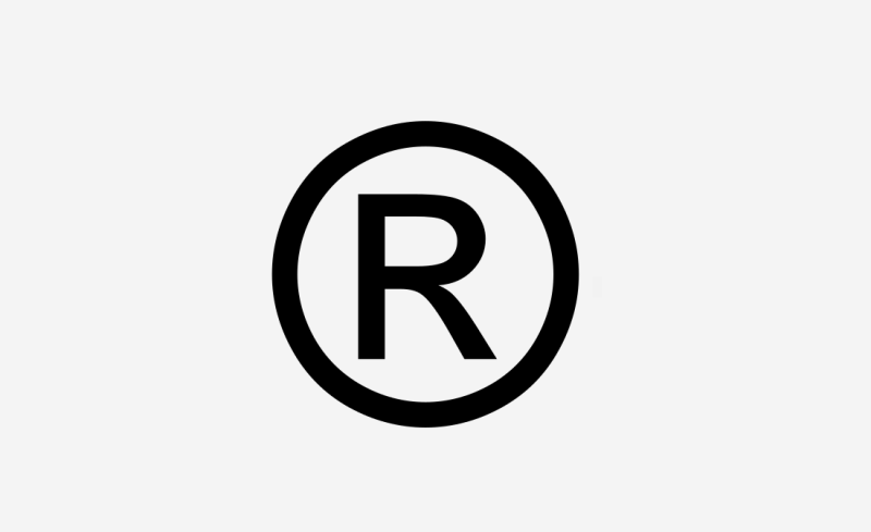 Should be used with care: The sign of a registered trademark